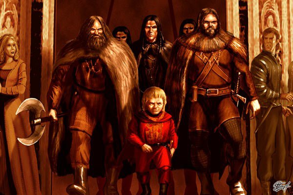 Файл:Tyrion and Mountain clans leaders by Amok.jpg