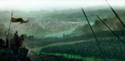 Marc Simonetti Storm King Arrek watches the battle near the town of fairground.jpg