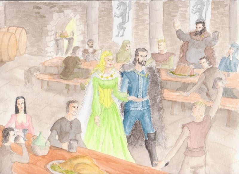 Файл:Agot cersei and eddard by o0magnus.jpg