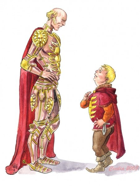 Файл:Lannister father and son by cabepfir.jpg
