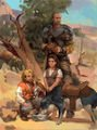 Pretty pig crunch penny imp and big bear by zippo514.jpg