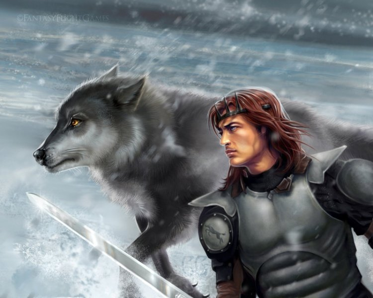 Файл:Robb and grey wind by quickreaver.jpg