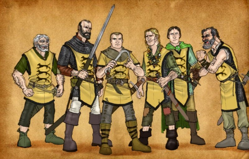 Файл:Ser Gregor s men by serclegane.jpg