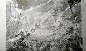 Скетч. Битва у Черноводной