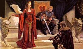 Мелисандра, Станнис и Давос