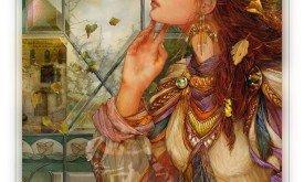 Принцесса из башни (деталь)