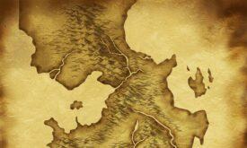 Карта Вестероса для игры GoT: Genesis, 2048 x 4096 © Cyanide