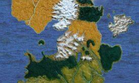 Карта Вестероса © Fantasy Flight Games)
