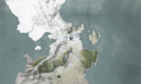 Карта Вестероса (испанский), 2000 x 3200 © canalplus.es © HBO