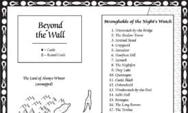 Север и Стена, © James Sinclair, Random House, George R.R. Martin (из Бури мечей)