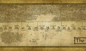Стена из электронно книги Игра престолов, изд. Harper Collins Voyager
