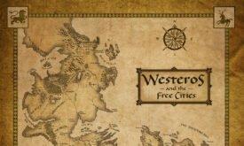 Карта из электронно книги Игра престолов, изд. Harper Collins Voyager