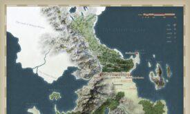 Фэн карта Вестероса 1328 x 3017 © Tear