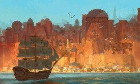 Корабль возле Вольных городов