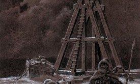 Джон и Тирион на Стене