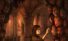 Календарь 2013: Арья и ее новое лицо (Танец с драконами)