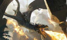 Эйгон I верхом на своем драконе