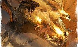 Смерть Принца Эйгона и его дракона Серебряный Вихрь