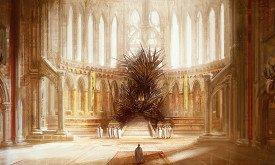 Со слов Мартина это лучший Железный трон, что он видел, обложка для издательства Random House Mexico