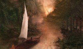Календарь 2013: Тирион и Ко подплывают к Скорби (Танец с драконами)