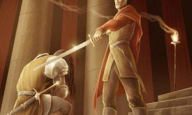 Тайвин Ланнистер посвящает в рыцари