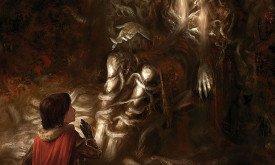 Календарь 2013: Бран и его учитель (Танец с драконами)