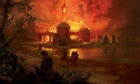 Пожар в Летнем замке
