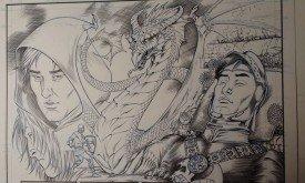 Черновики к Таинственному рыцарю