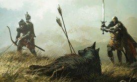 Смерть лютоволка Серый Ветер