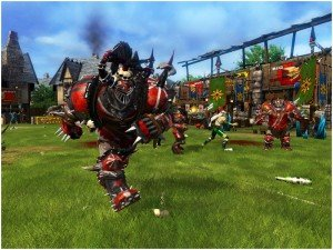 Blood Bowl: обратите внимание, на траве бутылка