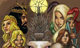 Постер к комиксу «Игра престолов»