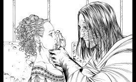 Сандор и Санса (чб), в. 22