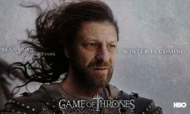 Sean Bean as Eddard Stark (Шон Бин  роли Эддарда Старка)