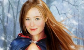 Jennifer Ehle as Catelyn (artwork by Christine Griffin)