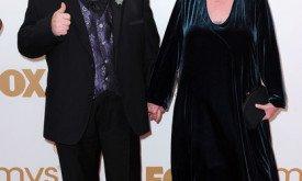 Джордж Мартин с женой на вечеринке HBO по случаю завершения церемонии Эмми