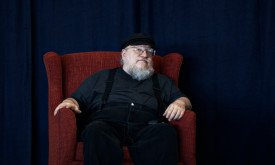 George R. R. Martin at Amazon, 19.07.2011 — http://www.flickr.com/photos/shanelin/5989796473/