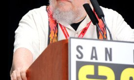 George R. R. Martin на КомикКоне 2011