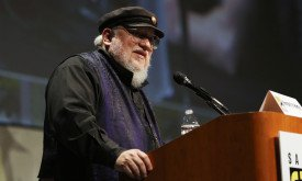 SAN DIEGO, CA - JULY 13:  Writer George R.R. Martin speaks onstage at HBO's