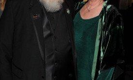Джордж Мартин с женой Пэррис (2011). Фото по случаю попадания в список самых влиятельных людей TIME