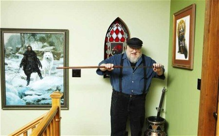 Джордж Мартин у себя дома (PHOTO: Nancy Newberry)