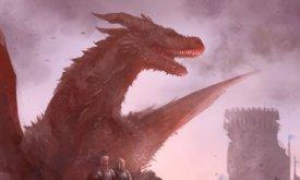 Эйгон Завоеватель с драконом и сестрами