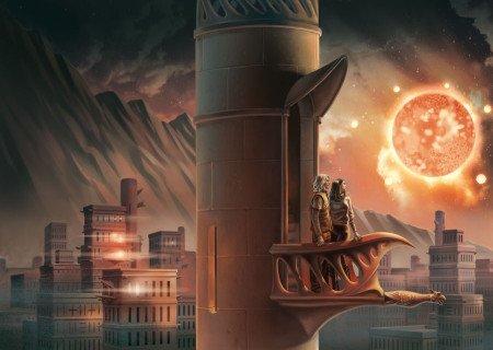 Иллюстрация к роману «Умирающий свет»