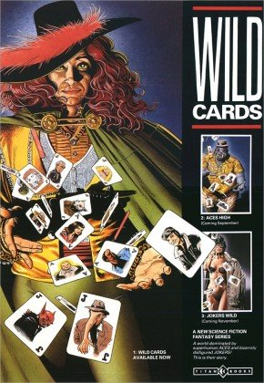 Wild Cards Poster (UK) Art by Brian Bolland