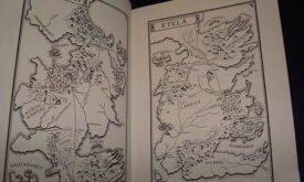 Карта Вестероса с переведенными названиями