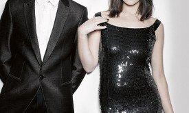 Gemma Arterton and Harry Lloyd // Photo by Ezra Patchett // Styled by Nicky Yates