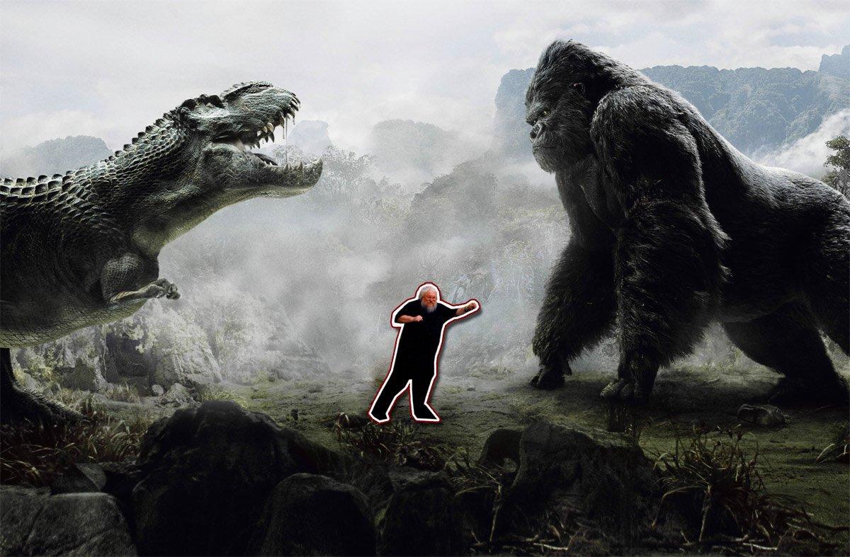Кинг Конг иди Дракон... тьфу... динозавр