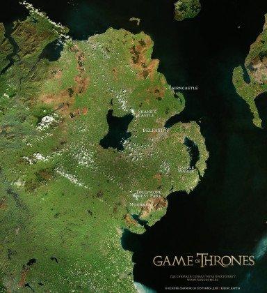Где снимали Игру престолов?