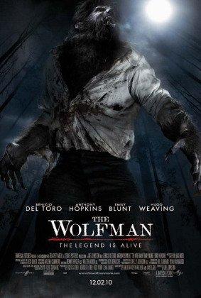 Человек волк с Бенисио дел Торо