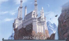 Титульная обложка календаря 2011 года (Тед Нэсмит)