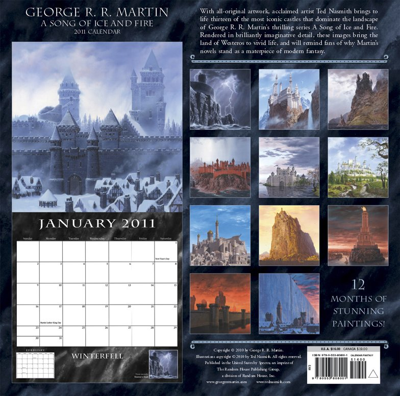 Содержание календаря 2011 года